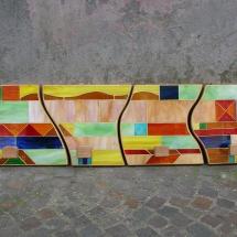 attaccapanni a mosaico