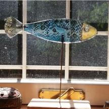 pesce dipinto